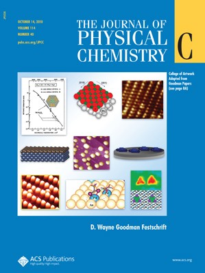 The Journal of Physical Chemistry C: Volume 114, Issue 40