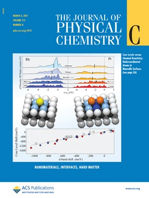 The Journal of Physical Chemistry C: Volume 115, Issue 8