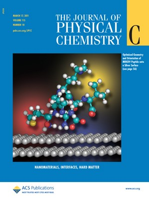 The Journal of Physical Chemistry C: Volume 115, Issue 10