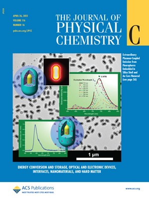 The Journal of Physical Chemistry C: Volume 116, Issue 16