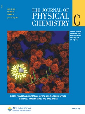 The Journal of Physical Chemistry C: Volume 116, Issue 18