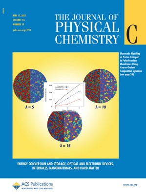 The Journal of Physical Chemistry C: Volume 116, Issue 19