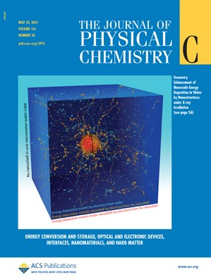 The Journal of Physical Chemistry C: Volume 116, Issue 20