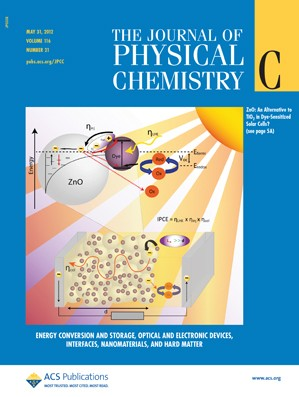 The Journal of Physical Chemistry C: Volume 116, Issue 21