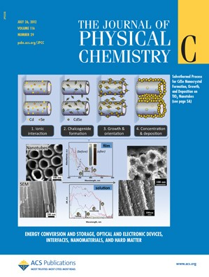 The Journal of Physical Chemistry C: Volume 116, Issue 29
