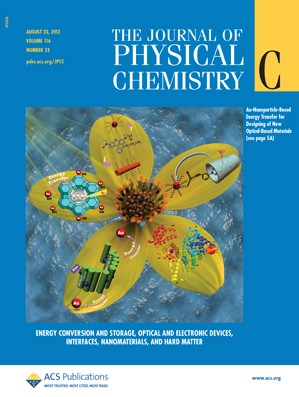 The Journal of Physical Chemistry C: Volume 116, Issue 33