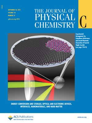 The Journal of Physical Chemistry C: Volume 116, Issue 37