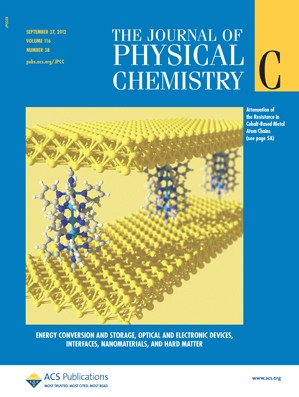 The Journal of Physical Chemistry C: Volume 116, Issue 38