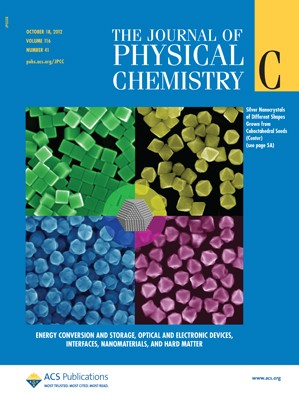 The Journal of Physical Chemistry C: Volume 116, Issue 41