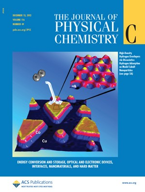 The Journal of Physical Chemistry C: Volume 116, Issue 49