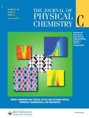 The Journal of Physical Chemistry C: Volume 116, Issue 50