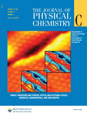The Journal of Physical Chemistry C: Volume 117, Issue 2