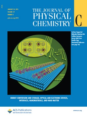 The Journal of Physical Chemistry C: Volume 117, Issue 3