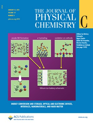 The Journal of Physical Chemistry C: Volume 117, Issue 4