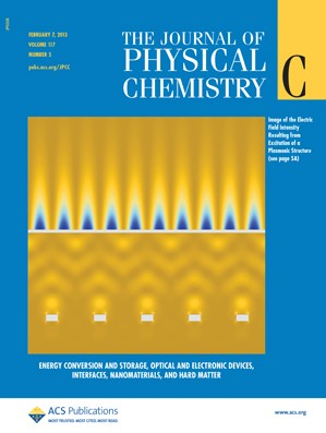 The Journal of Physical Chemistry C: Volume 117, Issue 5