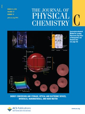 The Journal of Physical Chemistry C: Volume 117, Issue 10