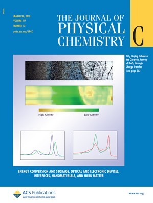The Journal of Physical Chemistry C: Volume 117, Issue 12
