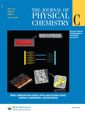 The Journal of Physical Chemistry C: Volume 117, Issue 13