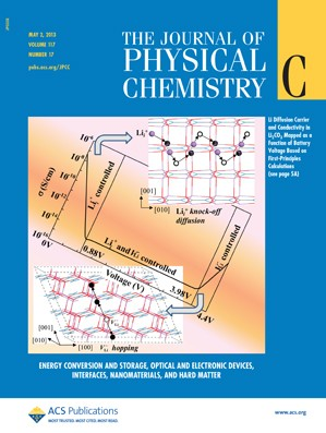 The Journal of Physical Chemistry C: Volume 117, Issue 17