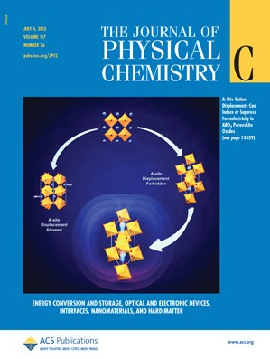 The Journal of Physical Chemistry C: Volume 117, Issue 26