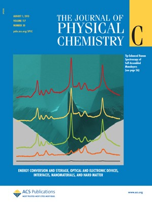 The Journal of Physical Chemistry C: Volume 117, Issue 30