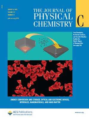 The Journal of Physical Chemistry C: Volume 117, Issue 31