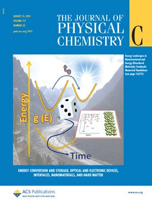 The Journal of Physical Chemistry C: Volume 117, Issue 32
