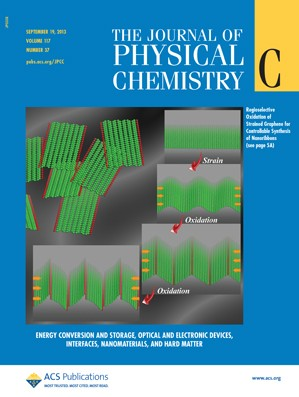 The Journal of Physical Chemistry C: Volume 117, Issue 37