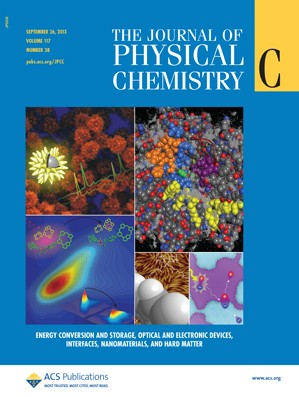 The Journal of Physical Chemistry C: Volume 117, Issue 38