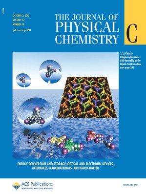 The Journal of Physical Chemistry C: Volume 117, Issue 39