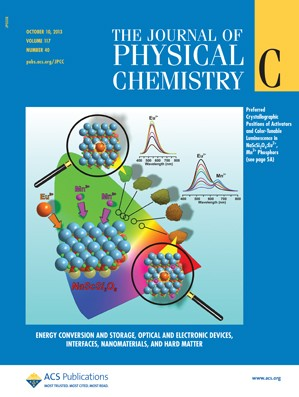 The Journal of Physical Chemistry C: Volume 117, Issue 40