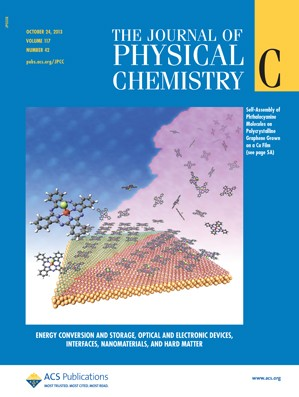 The Journal of Physical Chemistry C: Volume 117, Issue 42