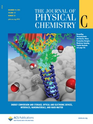 The Journal of Physical Chemistry C: Volume 117, Issue 50