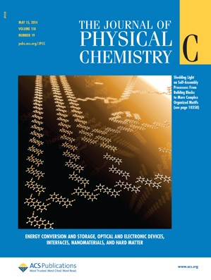 The Journal of Physical Chemistry C: Volume 118, Issue 19
