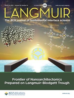 Langmuir: Volume 35, Issue 10