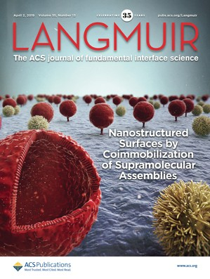 Langmuir: Volume 35, Issue 13