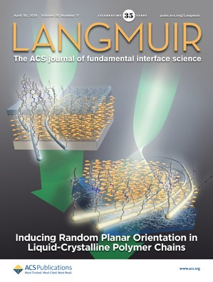 Langmuir: Volume 35, Issue 17