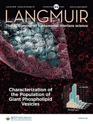 Langmuir: Volume 35, Issue 24