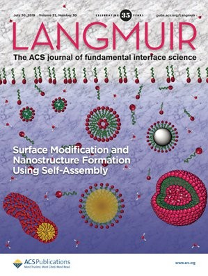 Langmuir: Volume 35, Issue 30