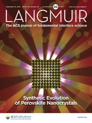 Langmuir: Volume 35, Issue 36