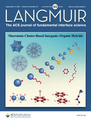 Langmuir: Volume 35, Issue 37