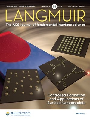 Langmuir: Volume 35, Issue 39