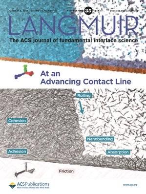 Langmuir: Volume 35, Issue 40