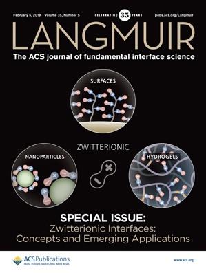 Langmuir: Volume 35, Issue 5