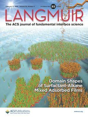 Langmuir: Volume 35, Issue 6