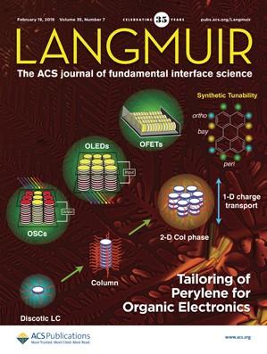 Langmuir: Volume 35, Issue 7