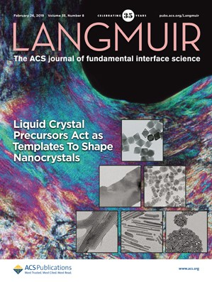 Langmuir: Volume 35, Issue 8