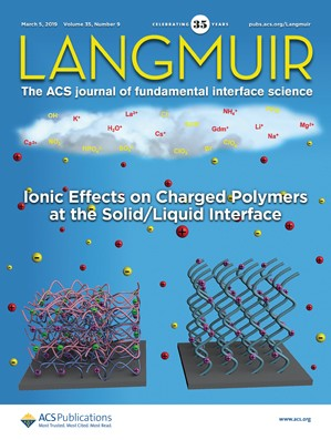 Langmuir: Volume 35, Issue 9