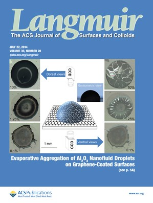 Langmuir: Volume 30, Issue 28