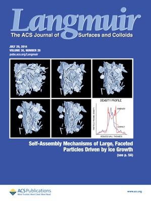 Langmuir: Volume 30, Issue 29
